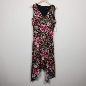 INC International Concepts Midi Dress Floral 6/14
